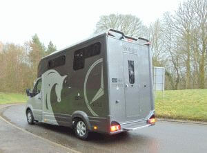 Equi-Trek Eclipse rear nearside