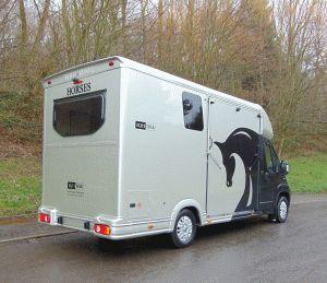 Equi-Trek Equinox Horsebox Rear