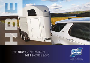 Ifor Williams HBE Horse Trailer Brochure