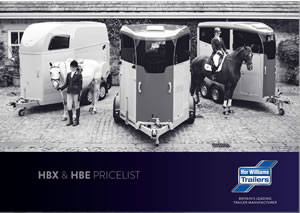 Ifor Williams HBX & HBE Brochure Price List