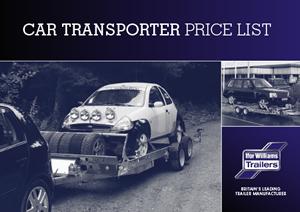 Car Transporter Price List