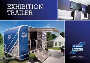 Ifor Williams Exhibition Trailer