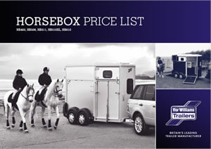 Horsebox Price List