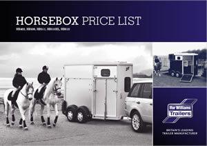 Horsebox Price List