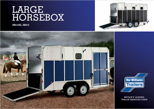 Large Horsebox Brochure & Price List