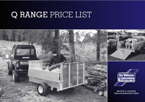 Ifor Williams Q Range price list