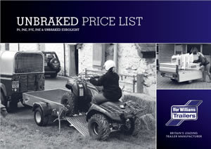 Unbraked Brochure & Price List