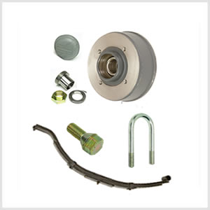 HB401, HB505 & HB510 Trailer Parts Pre April 2008