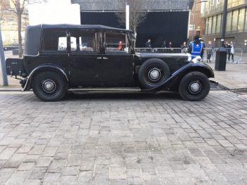 Daimler Straight 8 Salmons Tickford Cabriolet 1936