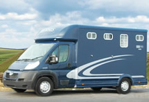 Equi-Trek Super Sonic 4.0t Horsebox hire