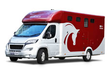 horsebox hire with living