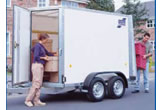BV105 Box Van Hire Trailers