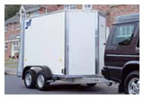 BV85 Box Van Hire Trailers