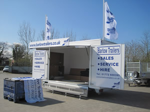 Towmaster Exhibition Trailer For Rent