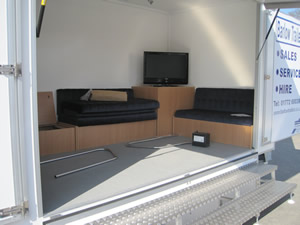 Towmaster Exhibition Trailer Rental