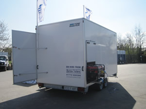 Towmaster Exhibition Trailer For Hire - ~Short and long term available