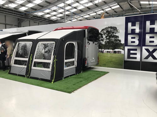 Ifor Williams Awning For HBX Horse Trailer 30th Anniversary Launch