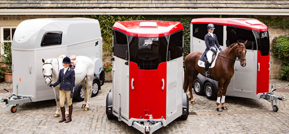 New Ifor Williams HBX and HBE horse trailers