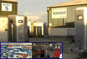 ~Barlow Trailers workshop for traler servicing and spares
