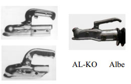 Bulldog hitch locks for Alko  & Albe hitch heads