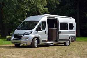 motorhome hire with living